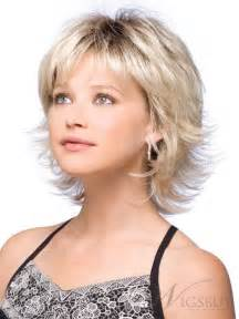 flip hairstyles 2015 sweet shoulder length flip platinum lace front wig for a