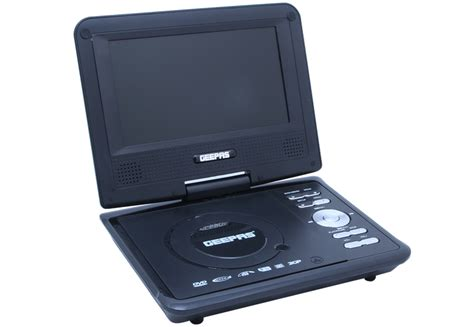 geepas dvd player video format gdvd2731 7 inch portable dvd with usb gdvd2731 geepas