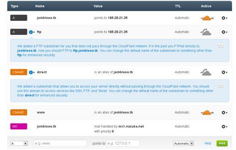 cara mengubah ip host ssh menjadi domain tk semua ada disini 3 setelah se ke 3 gambar itu delete semua dns record
