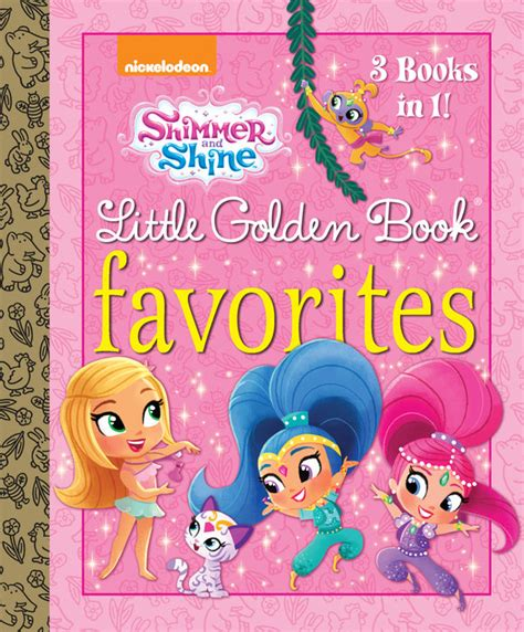 Shimmer And Shine My Puzzle Book shimmer and shine golden book favorites shimmer and shine random house books