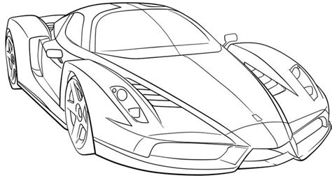 coloring pages of sports cars ferrari sport car high speed coloring page ferrari car