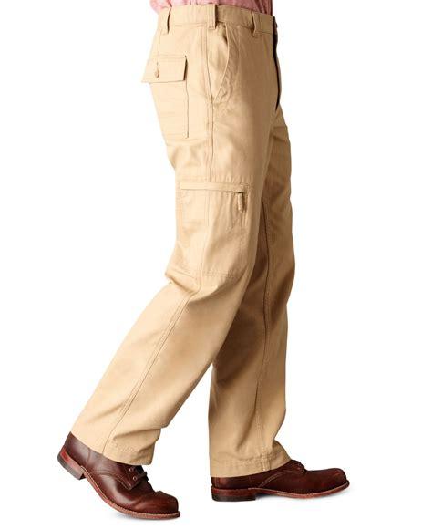 dockers d3 comfort waist cargo pants dockers comfort cargo classic fit flat front khaki pants