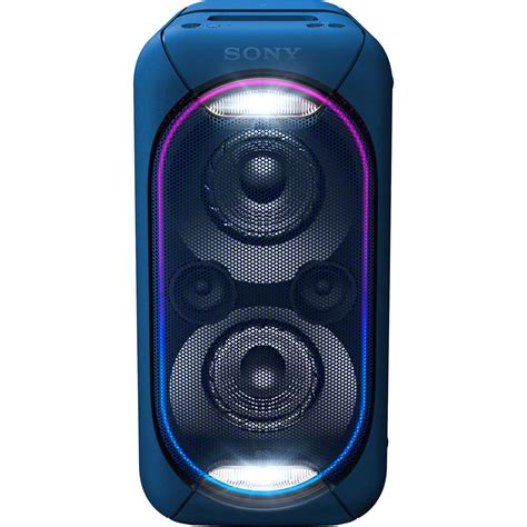 Speaker Aktif Bluetooth Sony sony gtk xb60 bluetooth speaker blue gtkxb60 l b h photo