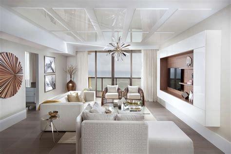 sophisticated interior design  sunny isles florida