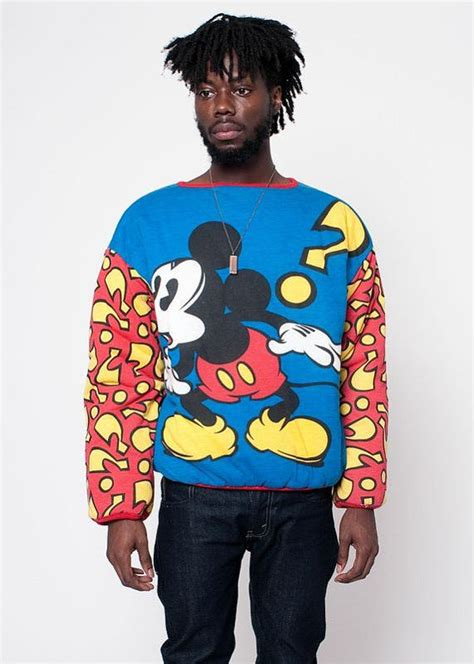 Cardigan Mickey Import vintage disney mickey mouse reversible sweatshirt disney disney mickey mouse and vintage disney