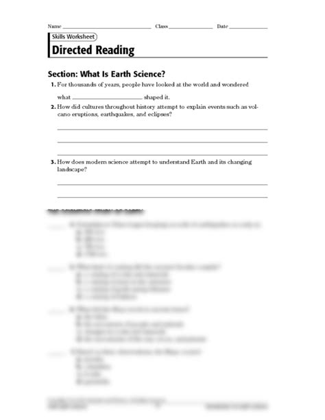 section 1 what is science earth ch 1 direct reading pdf earth science with krupa