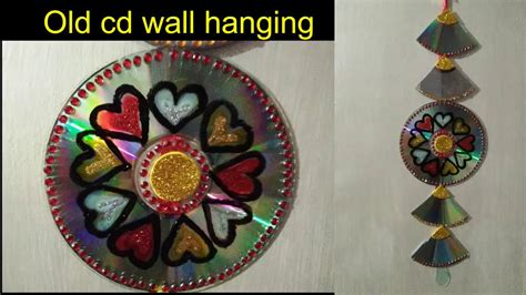 diy recycled decoration idea for hang on ceiling how to make cd craft 2018 how to make wall hangings ceiling hanging cd craft