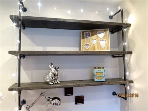 gas pipe shelving made to order lovewood kitchens