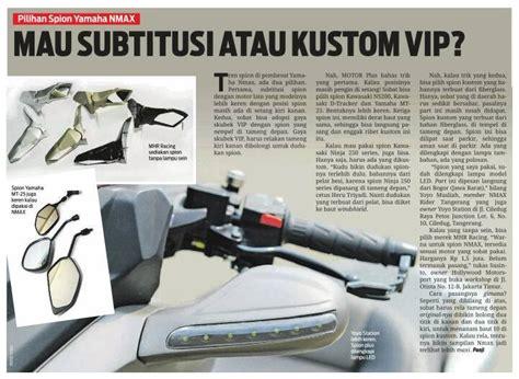 Spion Trend Yamaha modifikasi yamaha nmax 155 ala vip scooter ciamikkk tenan