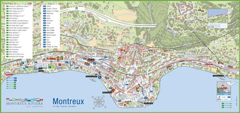map of montreux related keywords suggestions for montreux map