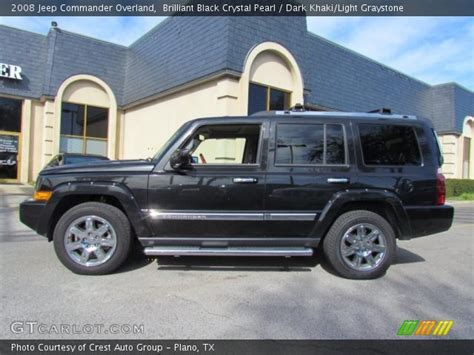 2008 Jeep Commander Overland For Sale Brilliant Black Pearl 2008 Jeep Commander