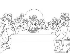 last supper coloring page the last supper coloring pages hellokids