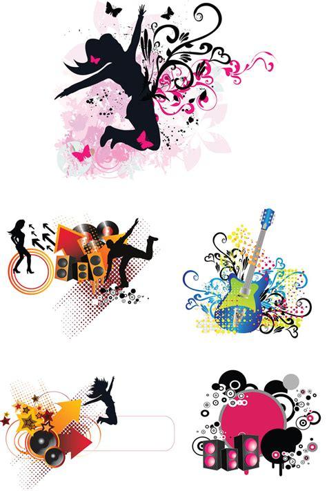 design graphics music music grunge elements vector vector graphics blog