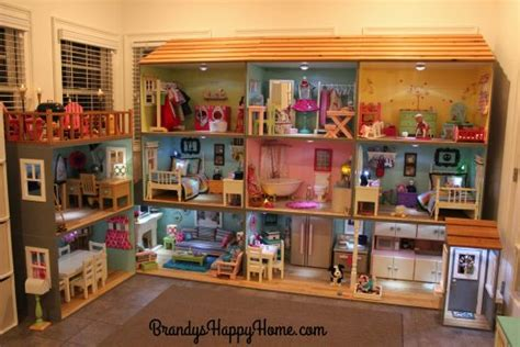 girl doll house american girl dollhouse