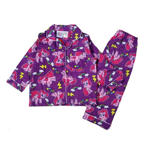 Piyama Minnie Mouse Biru Disney Kartun Pajamas Blue flannel pajamas for clothing
