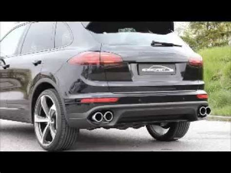 Porsche Cayenne Diesel Sound by Speedart Active Sound System F 252 R For Porsche 958 Facelift