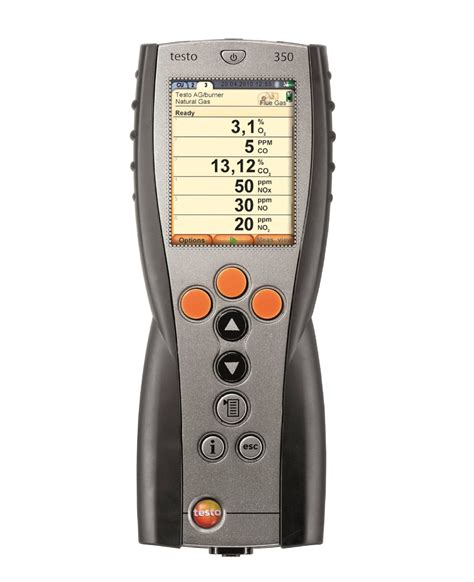 testo ca flue gas gas and particle testo 174 india
