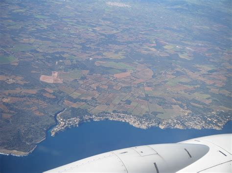 free images landscape sea wing sky view city land airplane aircraft vehicle aviation