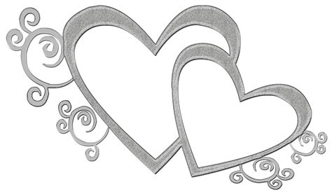 Silver Wedding Clipart the exclusive design hearts w taana gardner heartbeat 12 club