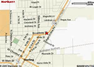 map of sterling colorado home electronics and car electronics in sterling colorado