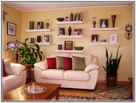 Wall Shelving Ideas For Living Room by Living Room Wall Decor Shelves Home Design Ideas