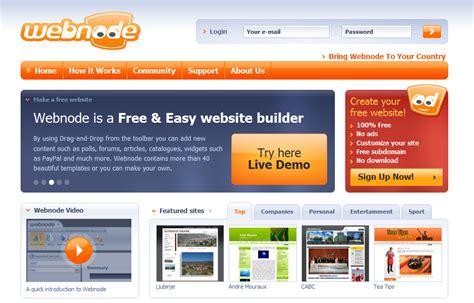 111 Best Online Web Design Tools Webnode Free Templates