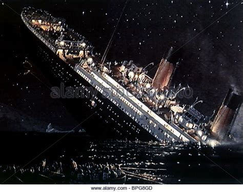titanic boat sinking scene titanic sinking movie stock photos titanic sinking movie
