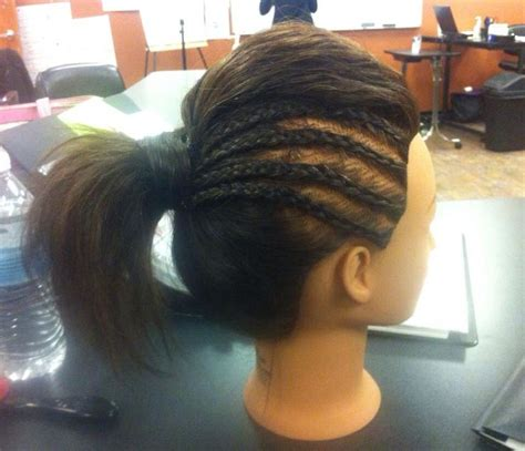 corn rolls in a ponytail hairstyles for young black women corn rolls hairstyles braids pictures