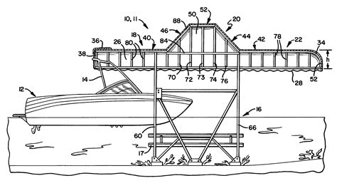 wake boat dimensions patent us20110290292 boat storage canopy apparatus for
