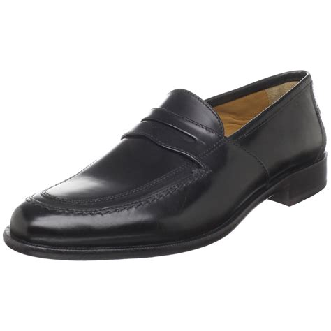 black italian loafers johnston and murphy knowland mens dress sandals
