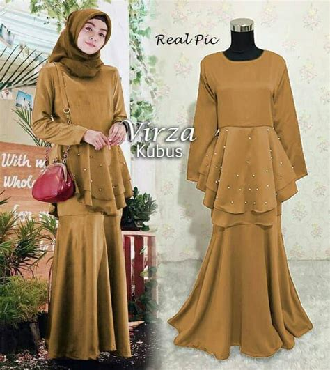 Gamis Pesta Zizara gamis pesta model mermaid modern virza kubus