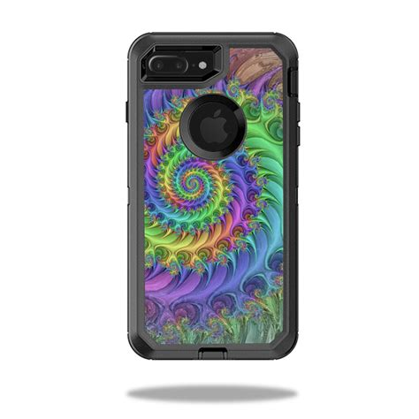 skin decal wrap for otterbox defender iphone 7 plus tripping