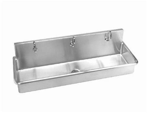 stainless steel wash sink stainless steel wall hung 70in w multi station wash up sink