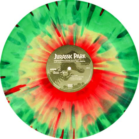 colored vinyl williams jurassic park original motion picture