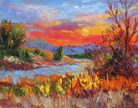 the images collection of landscape painting park west a