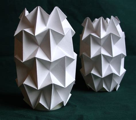 Paper Craft L Shades - handfolded paper tea light shades by dingolux