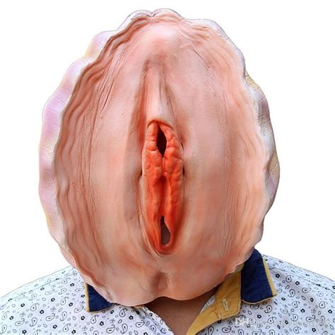 realistic creative funny shell latex mask halloween horror