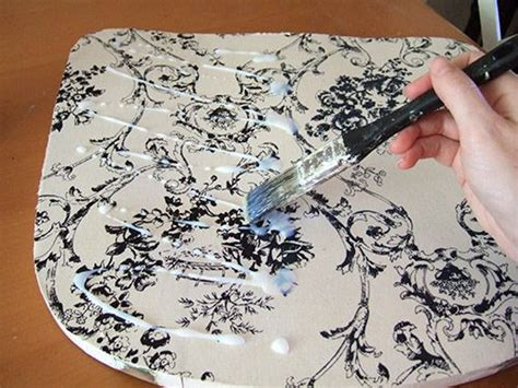 Decoupage On Fabric - 25 best decoupage chair ideas on