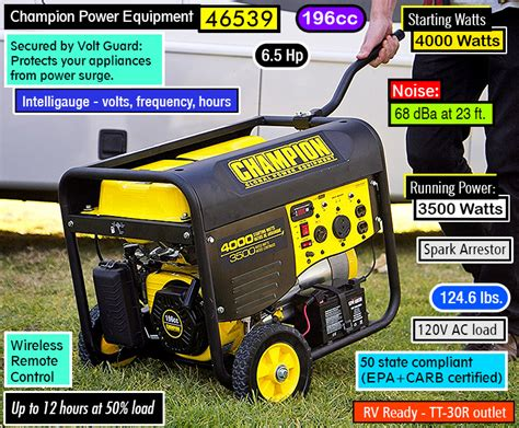best rv generator for the money generator power source