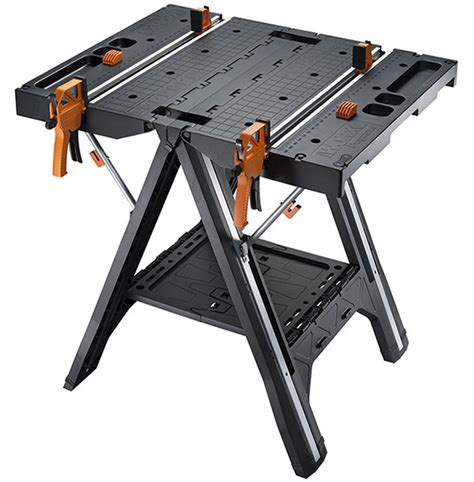 stanley portable cling table stanley folding sawhorse workbench bing images