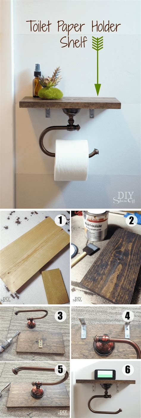 with toilet paper 15 totally diy toilet paper holders homelovr