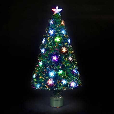 argos fiber optic christmas tree 5ft fibre optic tree find it for less