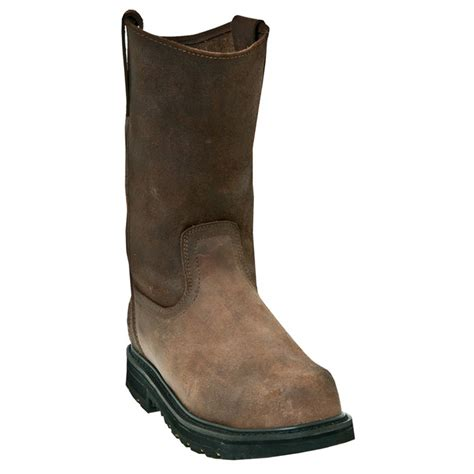 s pull on boots s mcrae 174 11 quot composite toe pull on work boots 281620