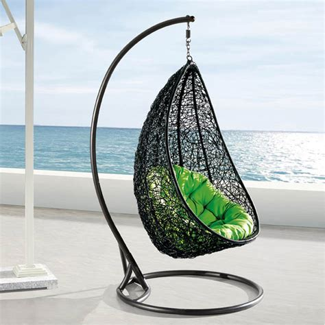 egg shaped swing comfortable egg shaped rattan outdoor euro swing chair