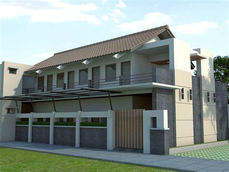 desain rumah minimalis 2 lantai desain rumah kost minimalis 2 lantai desain tipe rumah
