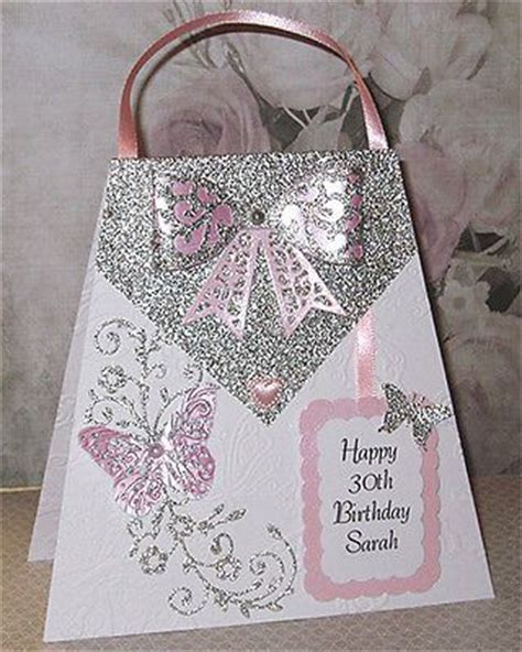 Handmade 30th Birthday Card - 30th birthday birthdays and handmade on