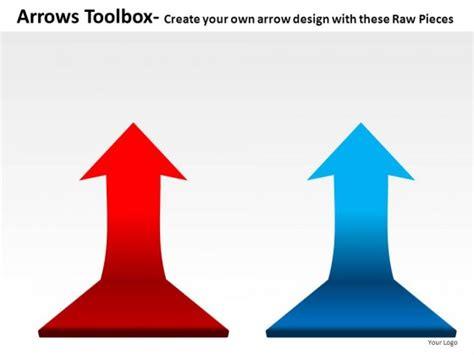 Arrows Toolbox Powerpoint Presentation Slides Arrows For Powerpoint Presentations
