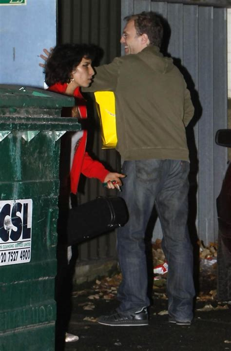 Winehouse Back In The Hospital by Winehouse Escapes From Clinic Zimbio