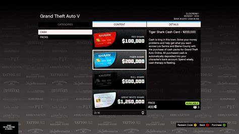 Cash In Gift Card Online - gta online all about shark cards gta 5 cheats