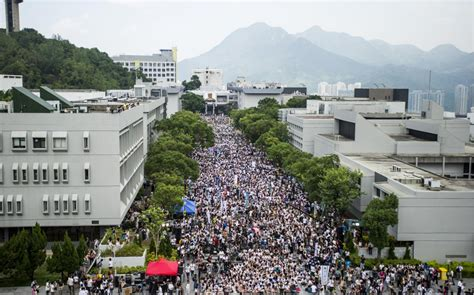hk students launch pro democracy walkout al jazeera america